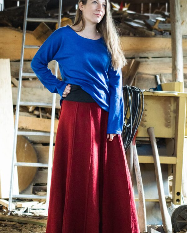 Wollrock Modell Theresa