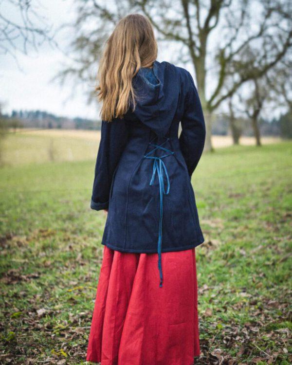 Kurzer Mantel aus Schurwolle Modell Mila