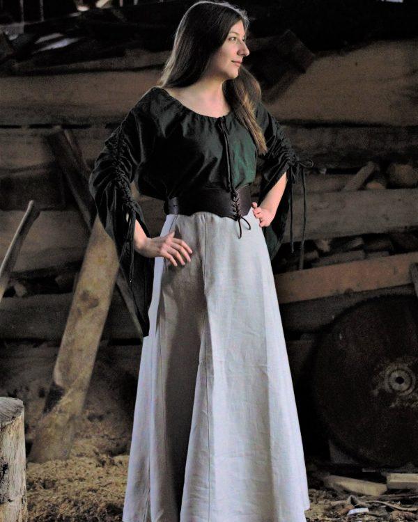 Leinenrock Modell Klara