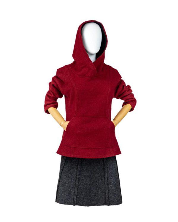 Frauenhoodie / Kapuzenpullover Modell Celia