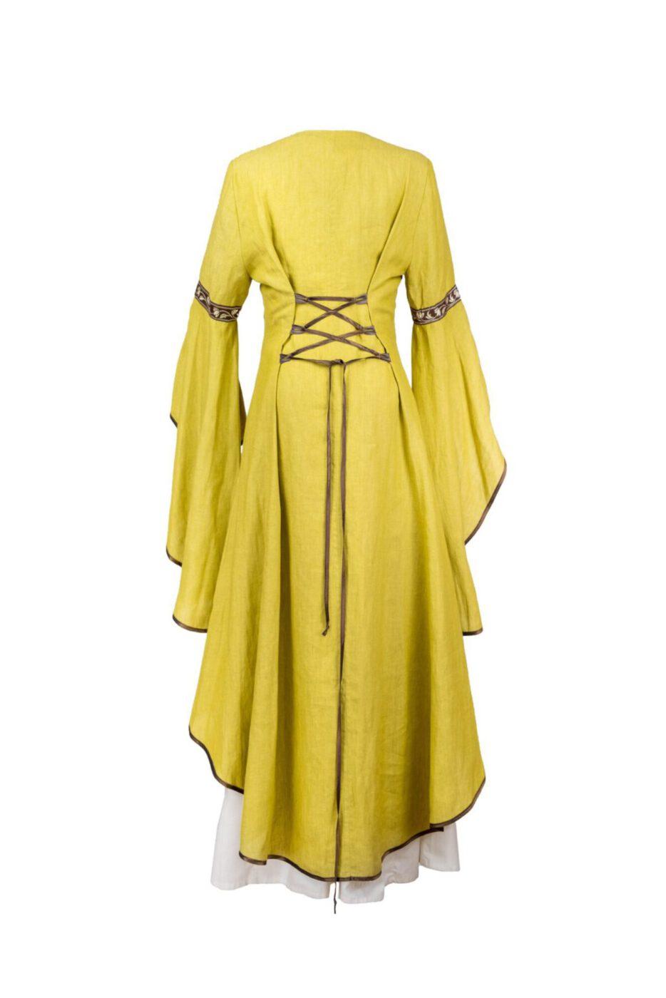 Überkleid aus Leinen Modell Amalia