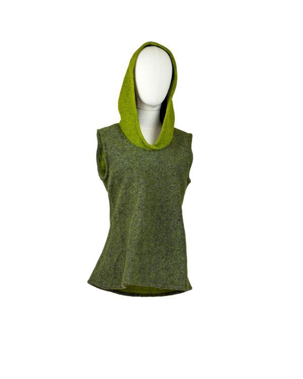 Ärmelloser Hoodie / Kapuzen – Pullover Modell Chiara