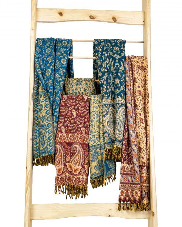 Schal/Decke Yakwolle