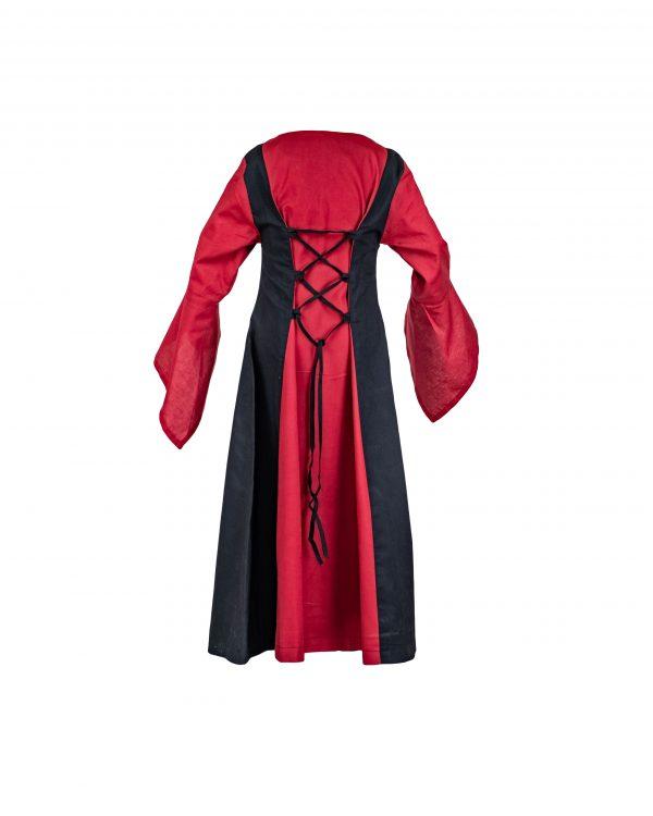 Mittelalterkleid aus Baumwolle für Kinder Modell Marie