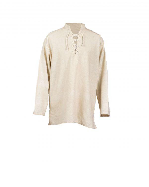 Stehkragenhemd mit schmalen Ärmeln Modell Ry