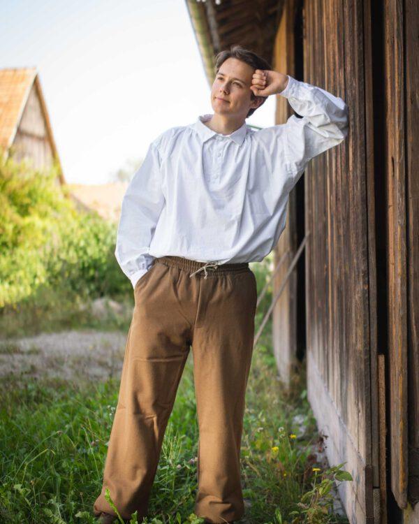 Hose aus Schurwolle Modell Louis
