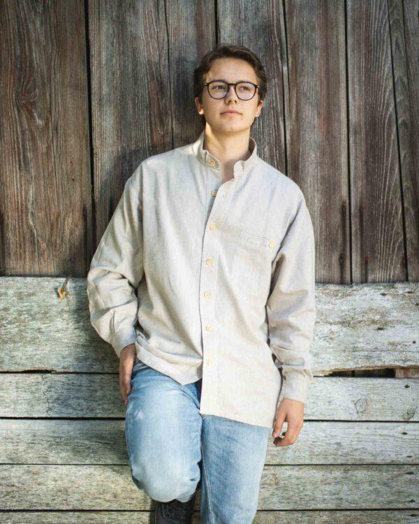 Klassisches Leinenhemd Modell Paul