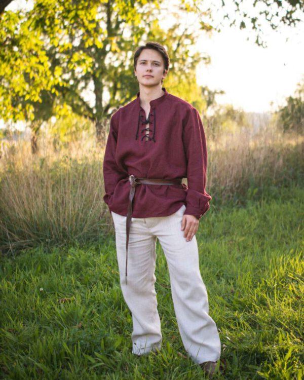 Leinenhemd Modell Jakob