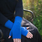 Pulswärmer / Handstulpen mit Daumen Modell Sarah