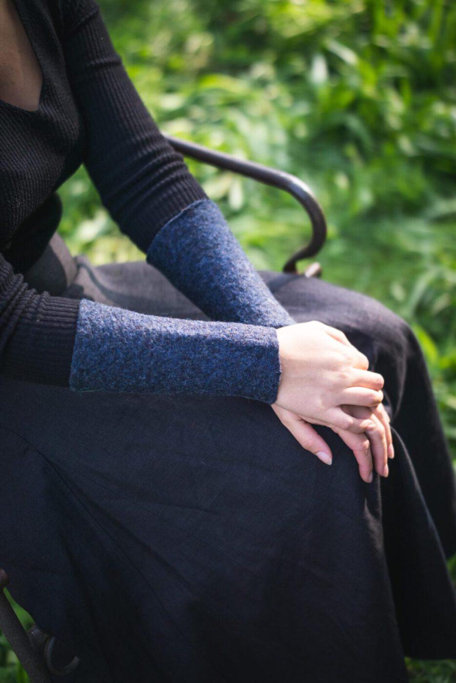 Pulswärmer / Handstulpen Modell Elke
