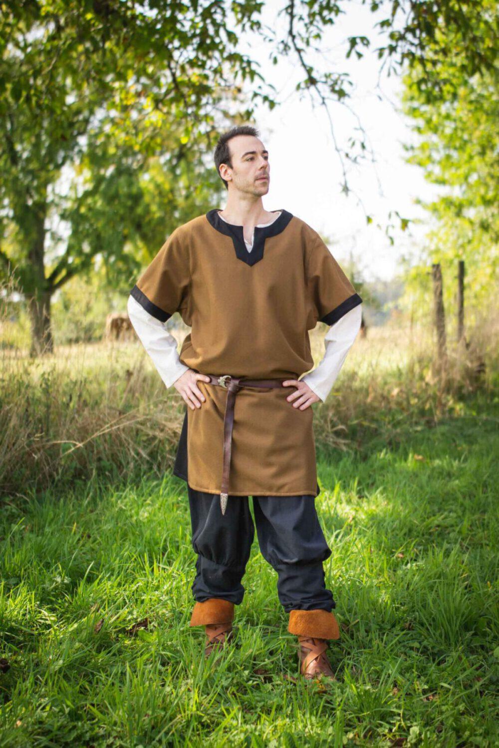 Wolltunika normannischer Art Modell Leif